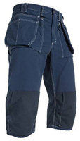 Bundhose Piratenlook marineblau